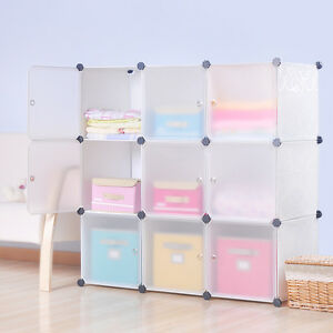 Ordinaire Image Is Loading DIY Home Storage Cube Cabinet For Clothes Shoes