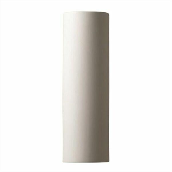 Justice Design Group 1 Light Ada Tube Closed Top Outdoor Ceramic Sconce For Sale Online Ebay