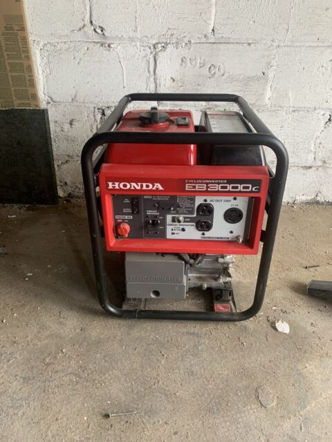 Honda Cycloconverter Portable Generator EB3000c (BROOKLYN PICK UP ONLY)
