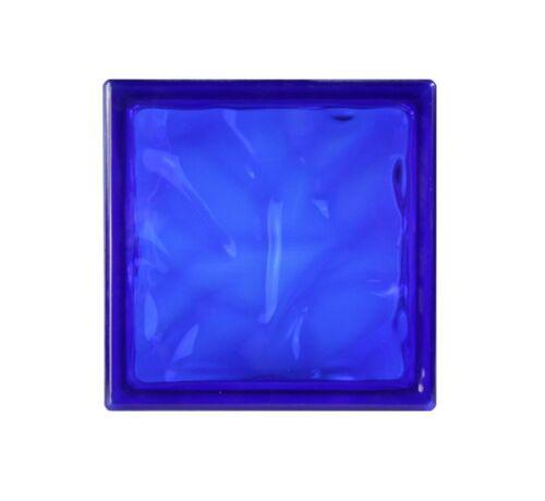 Kobald 19x19x8cm 5 Stück Fuchs Glasbausteine Glassteine Wolke Blau