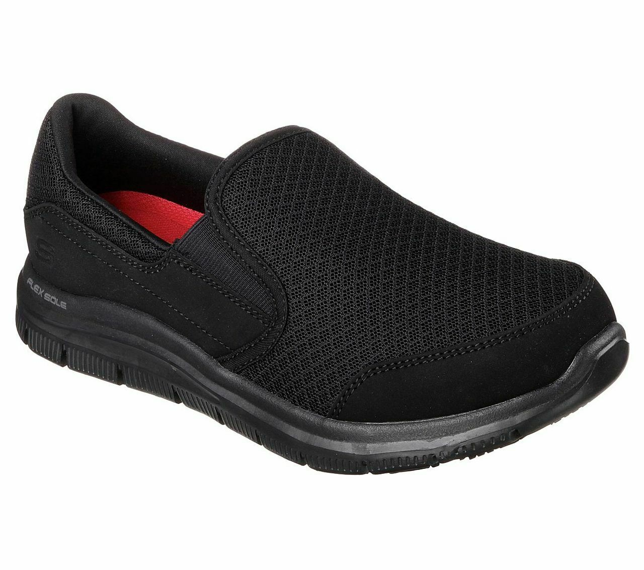 Skechers damen Work COZARD Berufsschuhe Kellner Schuhe Frauen schwarz