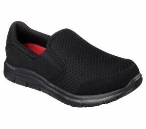 Details zu Skechers Womens Work COZARD Berufsschuhe Kellner Schuhe Frauen schwarz
