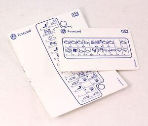 Fuse card diagram key 04 06 vw phaeton 3d0 010 315 p 3d0 010 402 image is loading fuse card diagram key 04 06 vw phaeton ccuart Images
