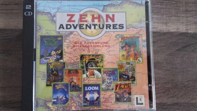 LucasArts Zehn Adventures (PC, 1997)