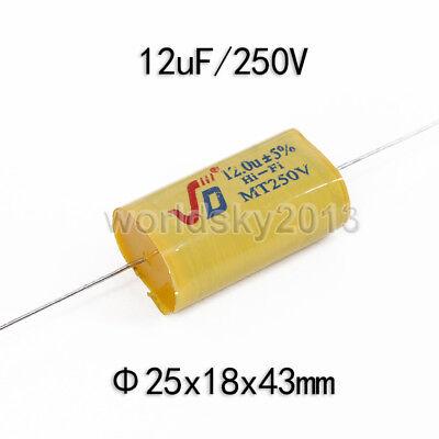 2pcs For JIEDENG 250V 1.5uF Crossover Polypropylene Non-Polarized Capacitor