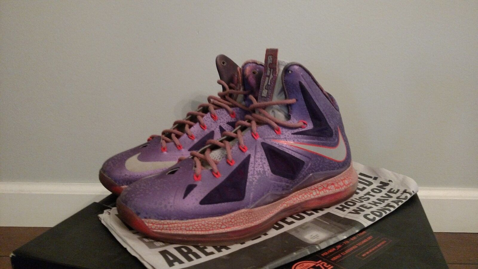 Nike lebron 10 all-star basketball shoes size 10.5 condition 9.5 10