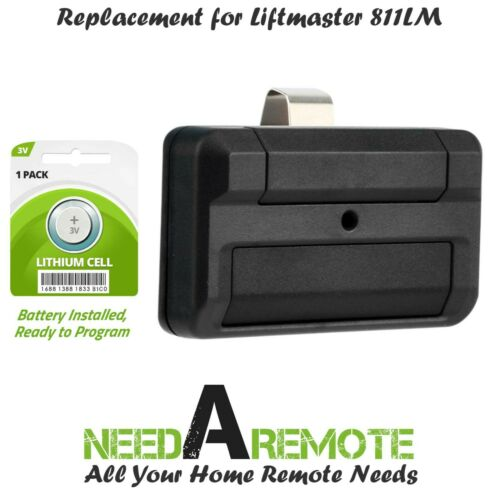 For 811LM LiftMaster Chamberlain 1 button Dip Switch Remote Security 2.0