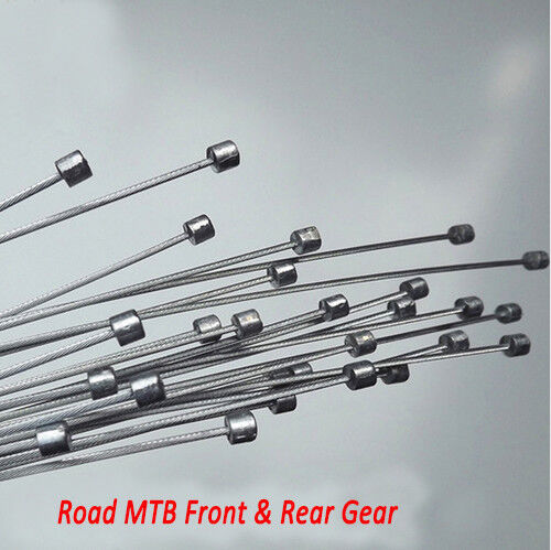 Road MTB Mountain Bike Bicycle Front /& Rear Derailleur Gear Brake Inner Cables