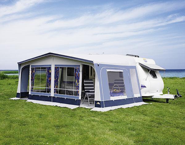 Vorzelt, Wohnwagenvorzelt, Camping, Zelt Fiesta 971-1000cm 300 Gr. 15, Umlaufmaß 971-1000cm Fiesta a6ea50