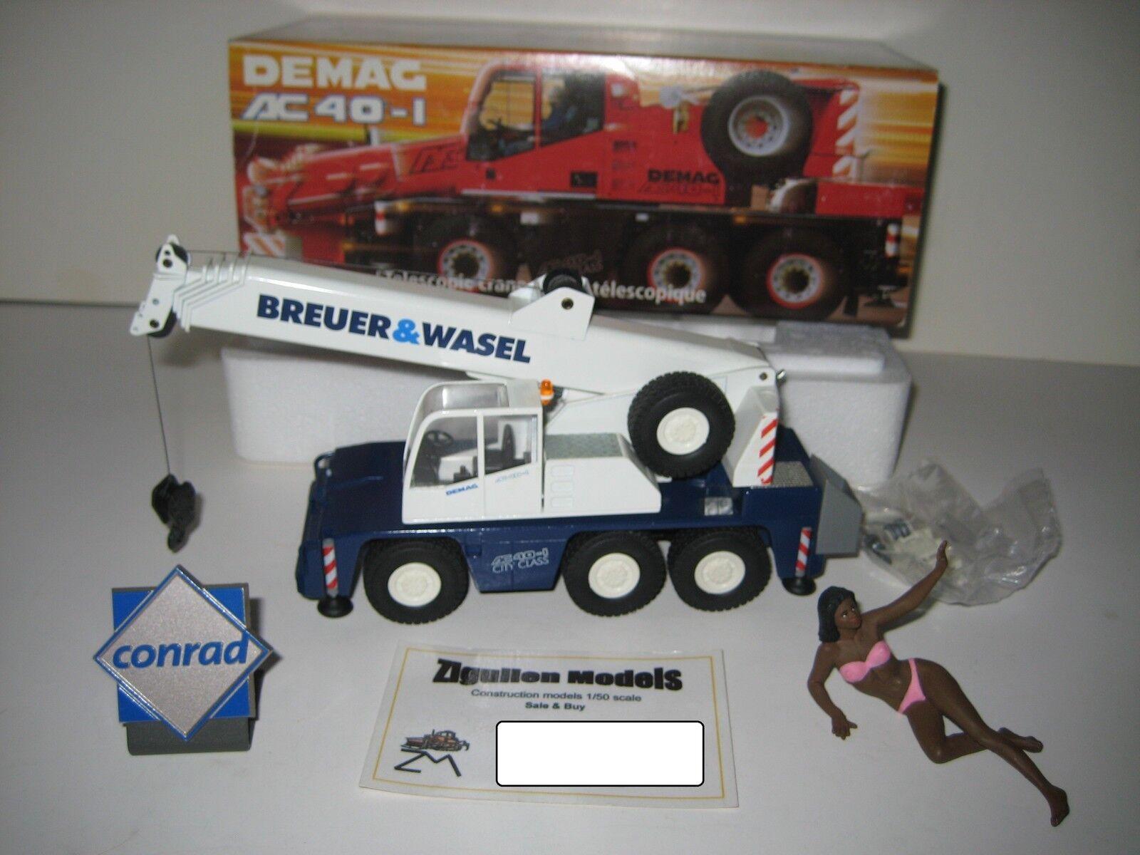 DEMAG AC 40-1 AUTOKRAN BREUER & WASEL  2093.29 CONRAD 1 50 OVP  | Ausgezeichnetes Preis