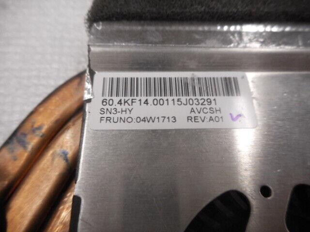 04W1713 THINKPAD T420S T420SI 04W1713 COOLING FAN & HEATSINK