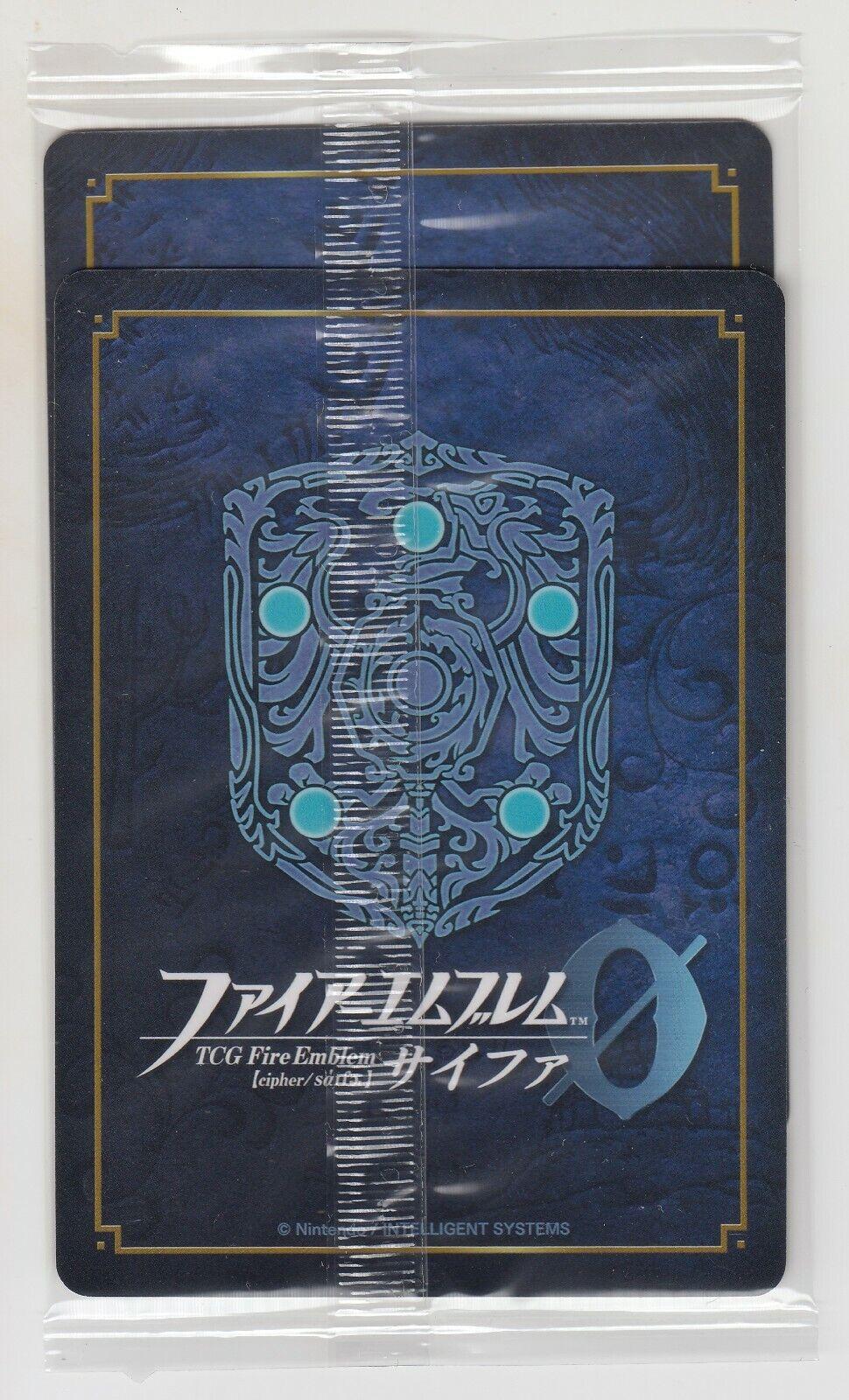Fire Emblem 0 Cipher Promo Ike P12-009PRr Byleth P18-001PR  Set female