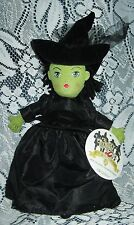 Wicked Witch of the West Madame Alexander Plush Doll Wizard Of Oz 2009