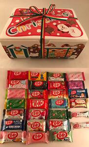 Christmas Flavors.Details About 28pc Japanese Christmas Kitkat Gift Box Set 28 Flavors Japan Kit Kat Kats