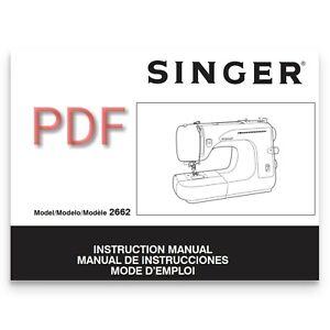 Singer 2662 sewing machine instruction manual pdf format e-manual.