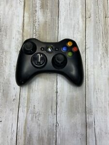 Official Microsoft Xbox 360 BLACK Wireless Controller Genuine Original OEM