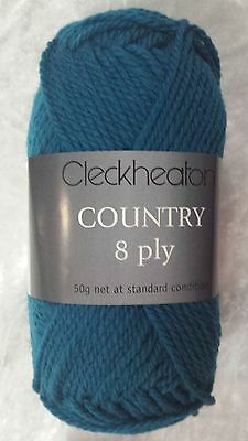 Cleckheaton Country #2331 Atlantic 100% Pure Wool