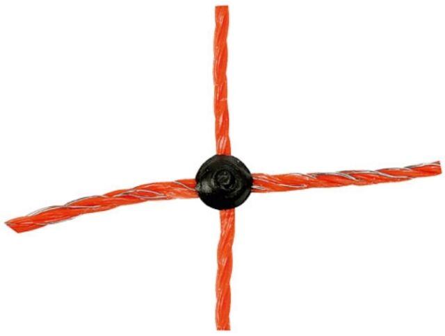 Schafnetz OviNet orange AKO Schafzaun 25m 90 cm Doppelspitze