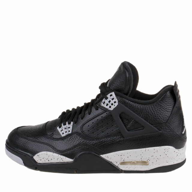 best sneakers 5a2ea 74ee1 Nike Mens Air Jordan 4 Retro LS