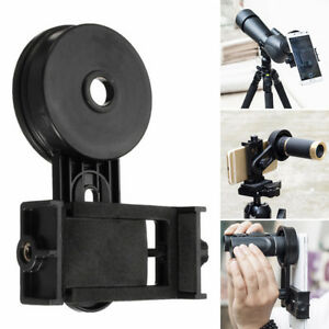 handy smartphone adapter halterung f r momokular teleskop spektiv fernglasl ebay. Black Bedroom Furniture Sets. Home Design Ideas