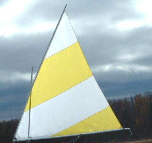 45 SF Sail /& Spars for Super Snark or Sea Snark or DIY boat
