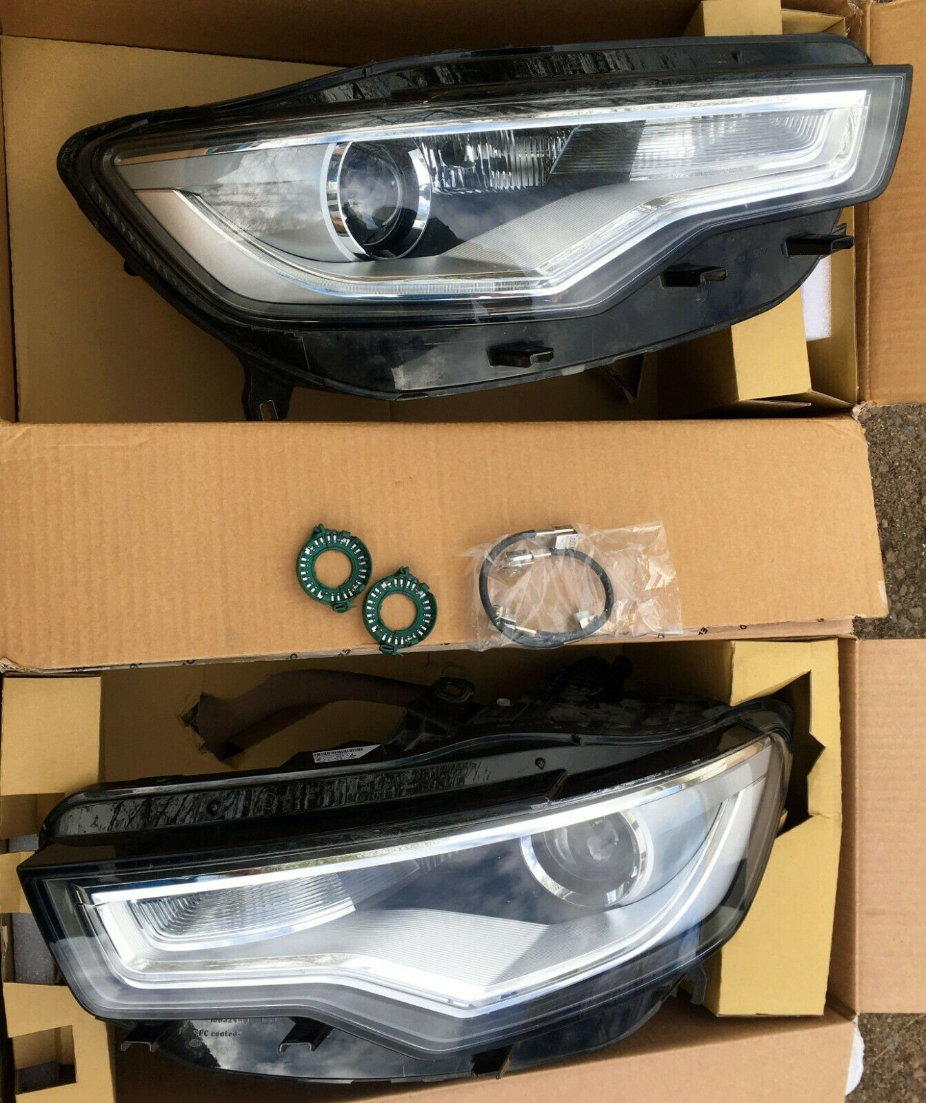 Phares set LANCIA Upsilon type 843 Année de construction 2003-08.2006 h3+h7 Incl Lampes 8vx