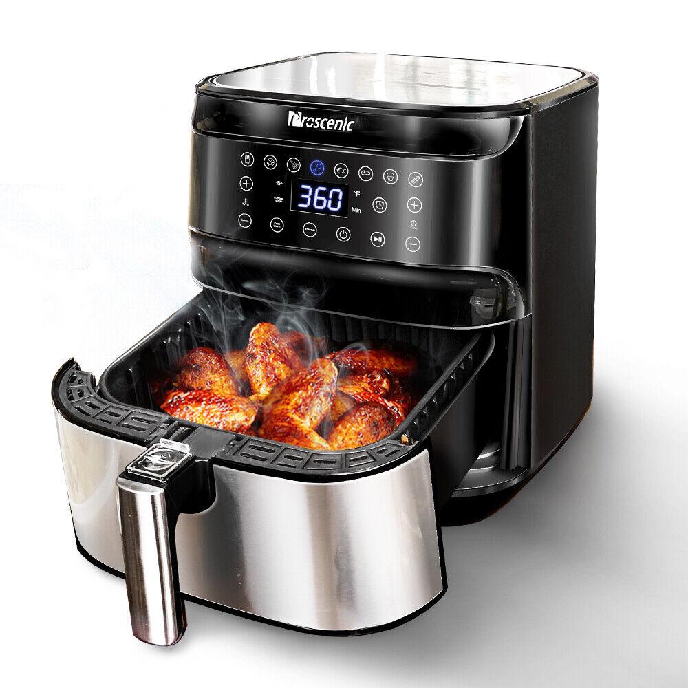 1700W Alexa Air Fryer 5,8qt Electric Hot air Oil less Low Fa