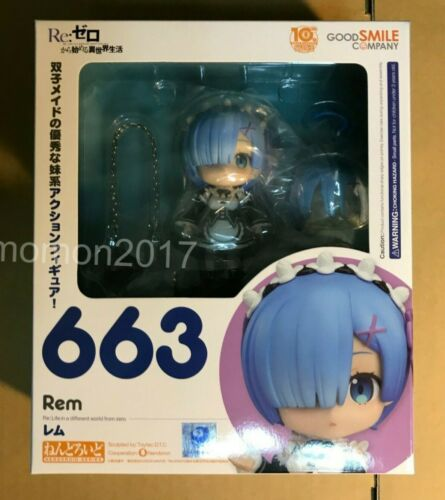 Re Zero Starting Life in Another World Rem Figure Good Smile Nendoroid 663 Japan