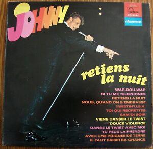 JOHNNY-HALLYDAY-Retiens-la-Nuit-LP-Fontana-6444-004-1970-Rock-FR