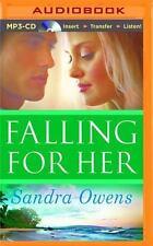 A K2 Team Novel: Falling for Her by Sandra Owens (2015, MP3 CD)