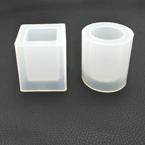Silicone Brush Pot Mold Mould For Epoxy Resin DIY Dried Flower Crystal Craft