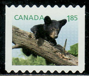 Canada-2607ii-Baby-Wildlife-Definitive-From-Coil-Die-Cut-MNH