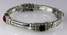 4030682 Sister Blessing Stretch Prayer Bracelet Secret Sister Gift Present
