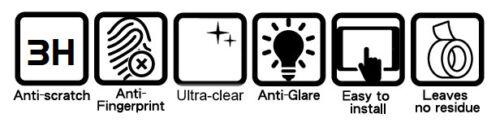 1 x Ultra-Transparent /& 1 x Anti-Reflet Protecteur d/'écran DUCATI XDIAVEL 2016