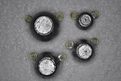 Free Shipping 2oz Ear Ball Lure Fishing Lead Weights 40 Sinkers