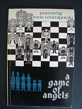 "Anne Szumigalski  ""a game of angels ""  Turnstone Press  1980  Signed & dated"