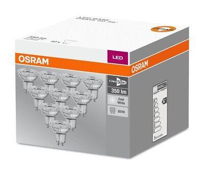 Osram DEL Superstar par16 80 36 ° gu10 Projecteur Verre Neutralweiß 4000k comme 80 W