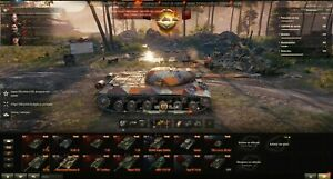 World of Tank EU account 26 premiums tank