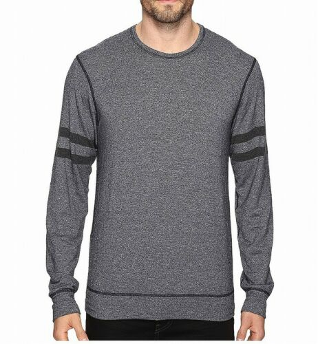 Splendid Mills Mens Sweatshirt Gray Size 2XL Crewneck Varsity Stripe $60 571