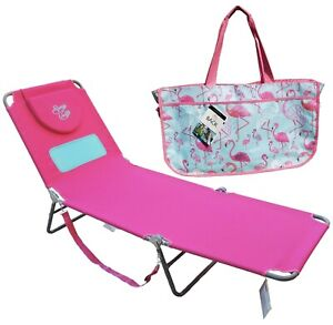 Hootie-Hammock-Comfort-Lounger-amp-Flamingo-Beach-Tote-Bag-2-Piece-Beach-Package
