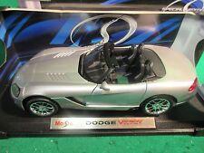 Dodge Viper SRT T-10 Die-cast Metal Scale 1:18