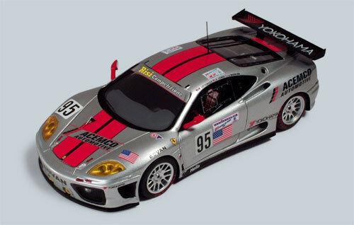 Ferrari F360 Modena GT le mans 2003 RL008 1/43 rosso Line