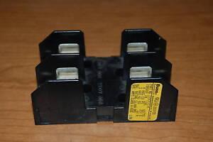 new bussmann fuse block 60a 60 amp a 250 v 1b0014 250v image is loading new bussmann fuse block 60a 60 amp a