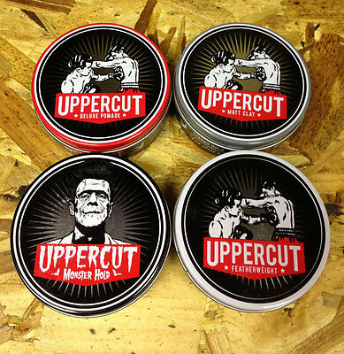 Uppercut Deluxe  Pomade Matt Monster Featherweight Hair Styling Product Ship