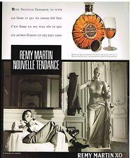 Publicité Advertising 1987 Fine Champagne Cognac Remy martin XO