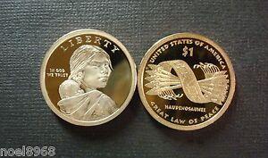 2010 S Native American//Sacagawea Dollar Deep Cameo Gem Proof