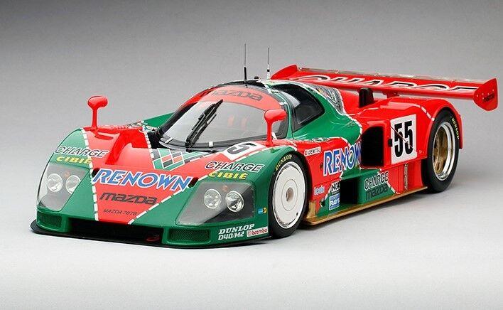 1991 Mazada 787B  55 1991 Le Mans 24 Hrs Winner