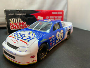 Racing-Champion-David-Green-Busch-Beer-NASCAR-Coin-Bank-Chevy-Monte-1-24-Diecast