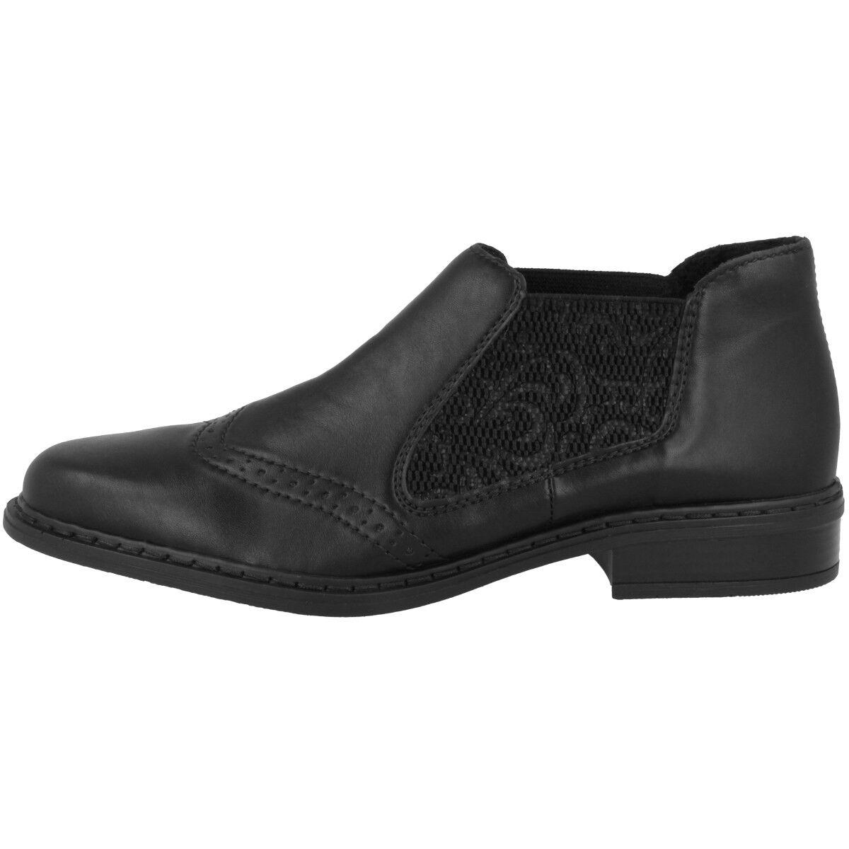 Rieker Florenz-Embossweaving Chaussures Anti-stress Bottines Chelsea Bottes