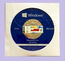 ~Microsoft Windows 8.1 Pro 64 bit Full Version & Laptop~